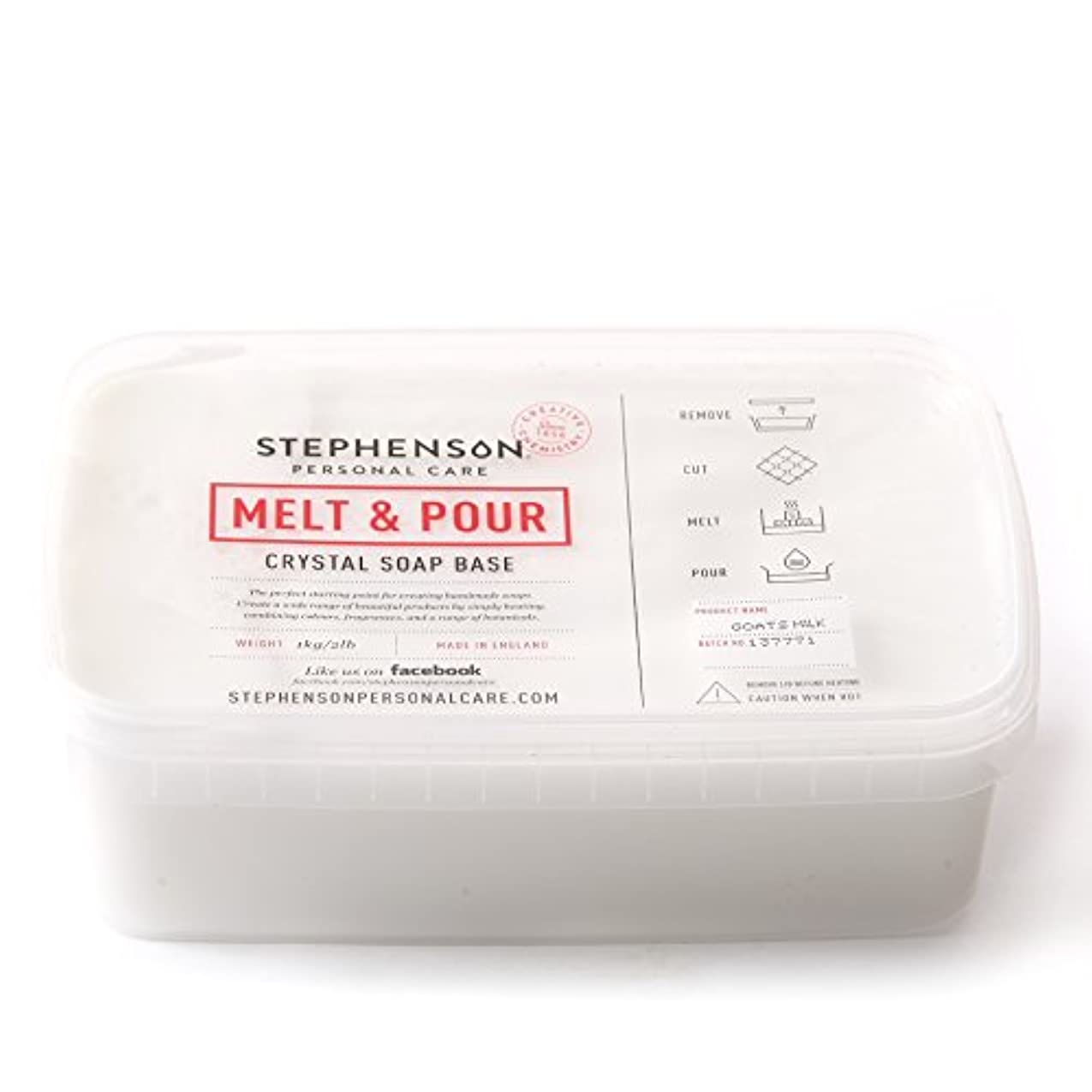 強い一般的に言えば手紙を書くMelt and Pour Soap Base Goat's Milk - 1Kg