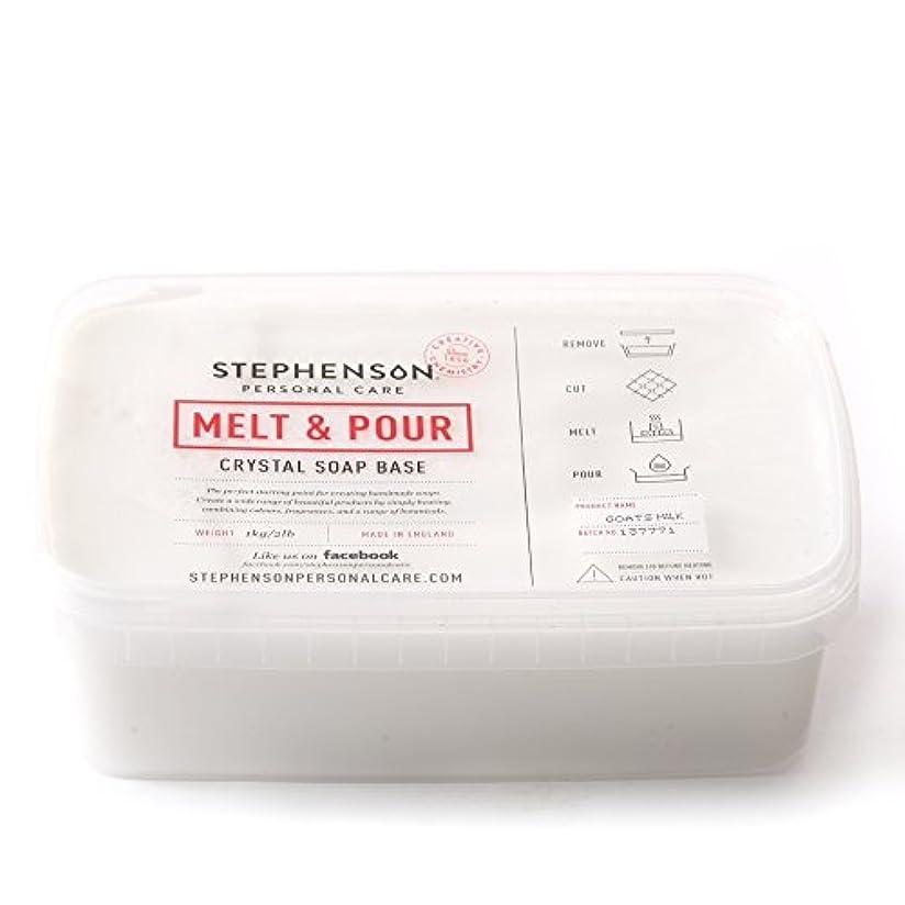 かわいらしいこねる想定Melt and Pour Soap Base Goat's Milk - 1Kg