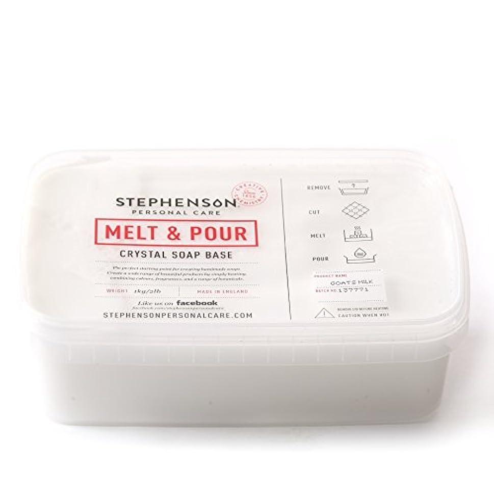 圧倒する周囲モディッシュMelt and Pour Soap Base Goat's Milk - 1Kg