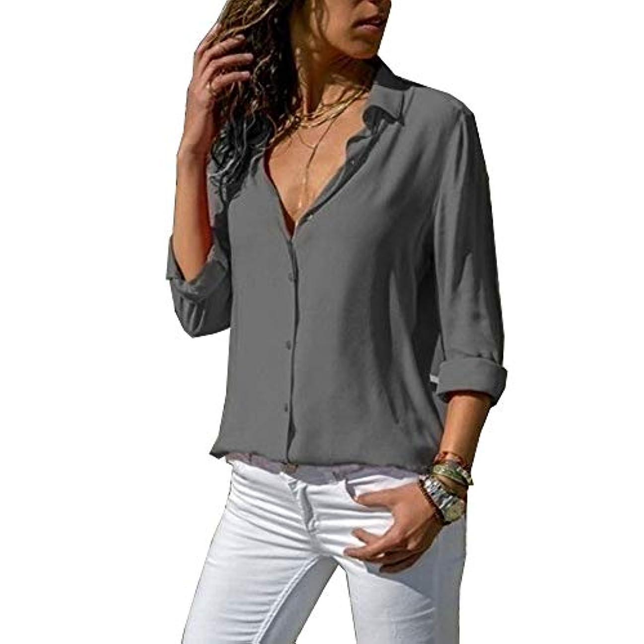 バーマド交換可能持参MIFAN ルーズシャツ、トップス&Tシャツ、プラスサイズ、トップス&ブラウス、シフォンブラウス、女性トップス、シフォンシャツ