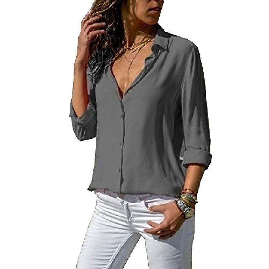 自治的汚染したがってMIFAN ルーズシャツ、トップス&Tシャツ、プラスサイズ、トップス&ブラウス、シフォンブラウス、女性トップス、シフォンシャツ