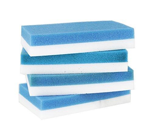 クイック消しゴムby scrub-it Cleans Like Magic、8カウント(4パック)向上、デザイン、簡単にクリーニングを削除しみ、マーク、汚れなど、すべての家の上から。