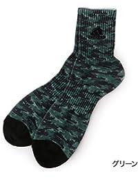 アディダス(メンズレッグウェア)(adidas(Mens Leg Wear)) adidas(アディダス) デジタルプリント 迷彩 ショート丈ソックス