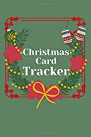 "Christmas Card Address Book: 6 Years Address Book and Tracker for The Christmas Cards You Send and Receive|157 Pages|6""x9"""