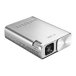 ASUS ZenBeam E1 ポケット LED プロジェクター(小型ミニ  150ルーメン  6,000mAh バッテリー内蔵  5時間の投影時間  モバイルバッテリー   HDMI MHL 対応)
