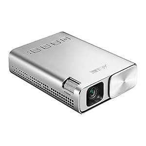 ASUS ZenBeam E1 ポケット LED プロジェクター(小型ミニ/ 150ルーメン/ 6,000mAh バッテリー内蔵 /5時間の投影時間/ モバイルバッテリー/HDMI MHL 対応)