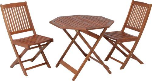不二貿易 ガーデン 八角テーブル 直径90cm ブラウン  B001T7HXF8 1枚目