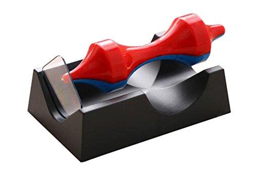 [ユケ二ー] おもしろい 創意 おもちゃん ストレス解消 卓上 置物 オフィス 模型 浮遊 自由自在 小物 品物 インテリア プレゼント 個性 レッドB F