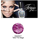 (3 Pack) Wet N Wild FERGIE NAIL COLOR - Take The Stage (DC) (並行輸入品)