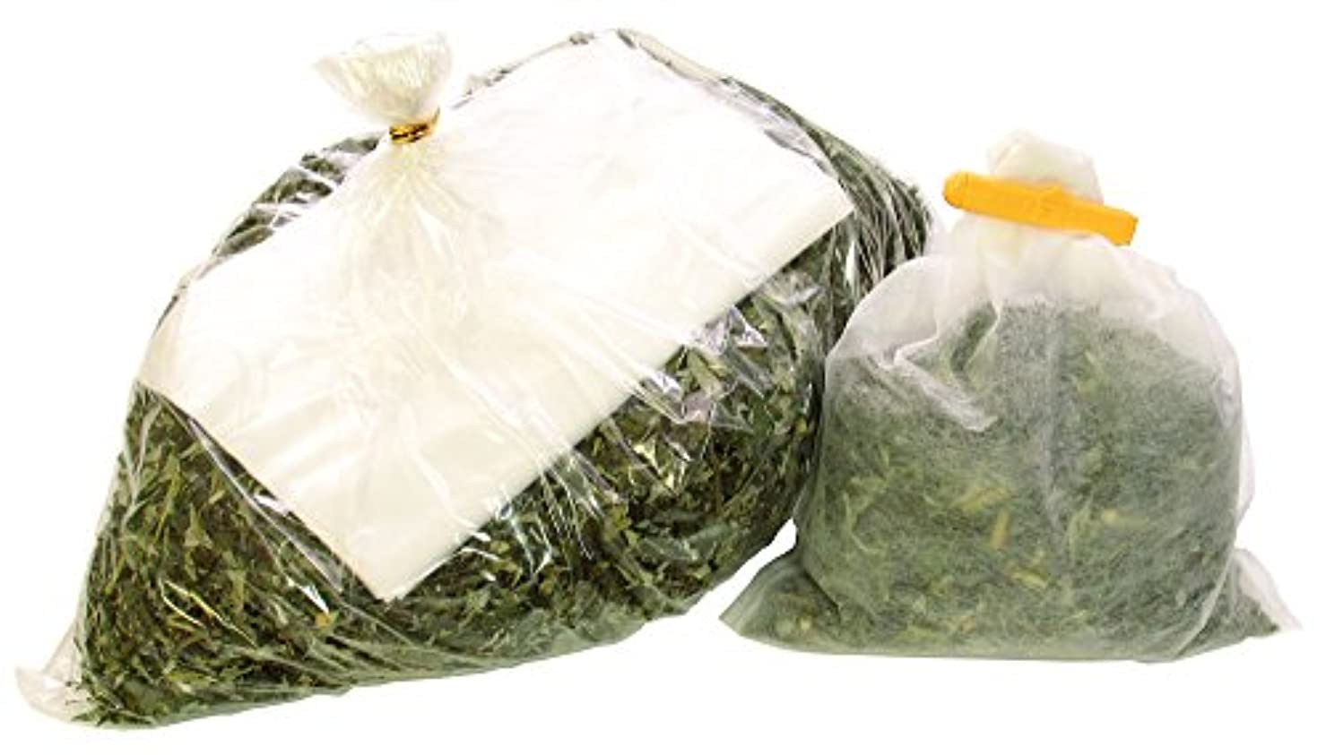 お手伝いさんいつか軽食自然健康社 よもぎの湯 600g 乾燥刻み 不織布付き