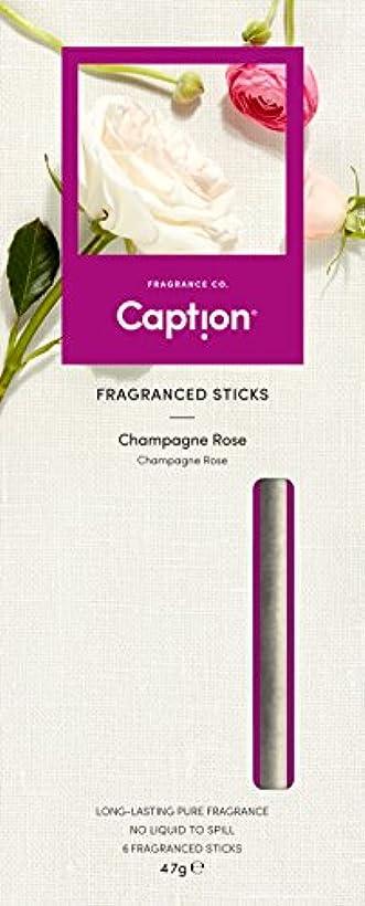 極地試みるリビジョンCaption フレグランス スティック (6本入) CHAMPAGNE ROSE