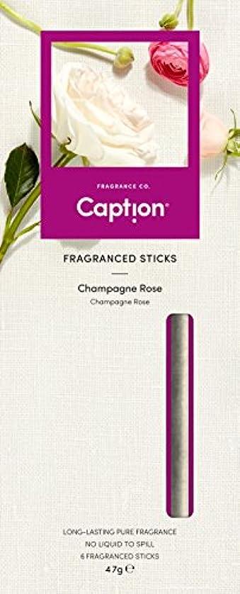 電卓野なハリウッドCaption フレグランス スティック (6本入) CHAMPAGNE ROSE