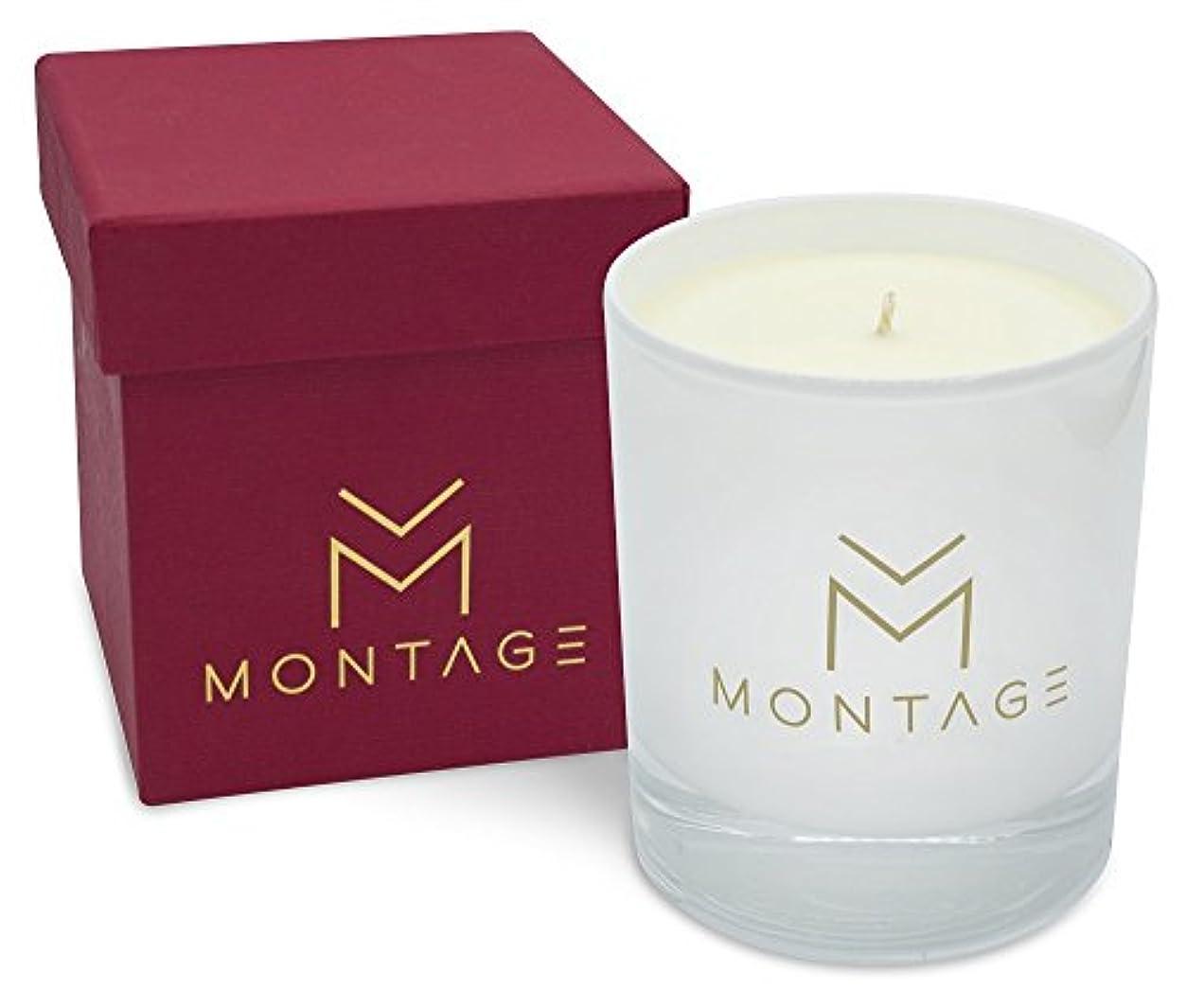 クリップ蝶植物の構築するパチュリ、Ylang Ylang &ラベンダーSoy Wax Candle inギフトbox- Love affair- Aromatherapy Candle for aphrodisiac with 100 % Pure...