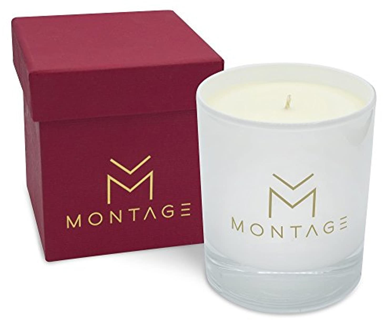 通路歩くメンタルパチュリ、Ylang Ylang &ラベンダーSoy Wax Candle inギフトbox- Love affair- Aromatherapy Candle for aphrodisiac with 100 % Pure...