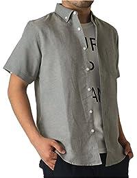 (リミテッドセレクト) LIMITED SELECT P2 半袖 オックスフォードシャツ メンズ 無地 ボタンダウンシャツ クールビズ