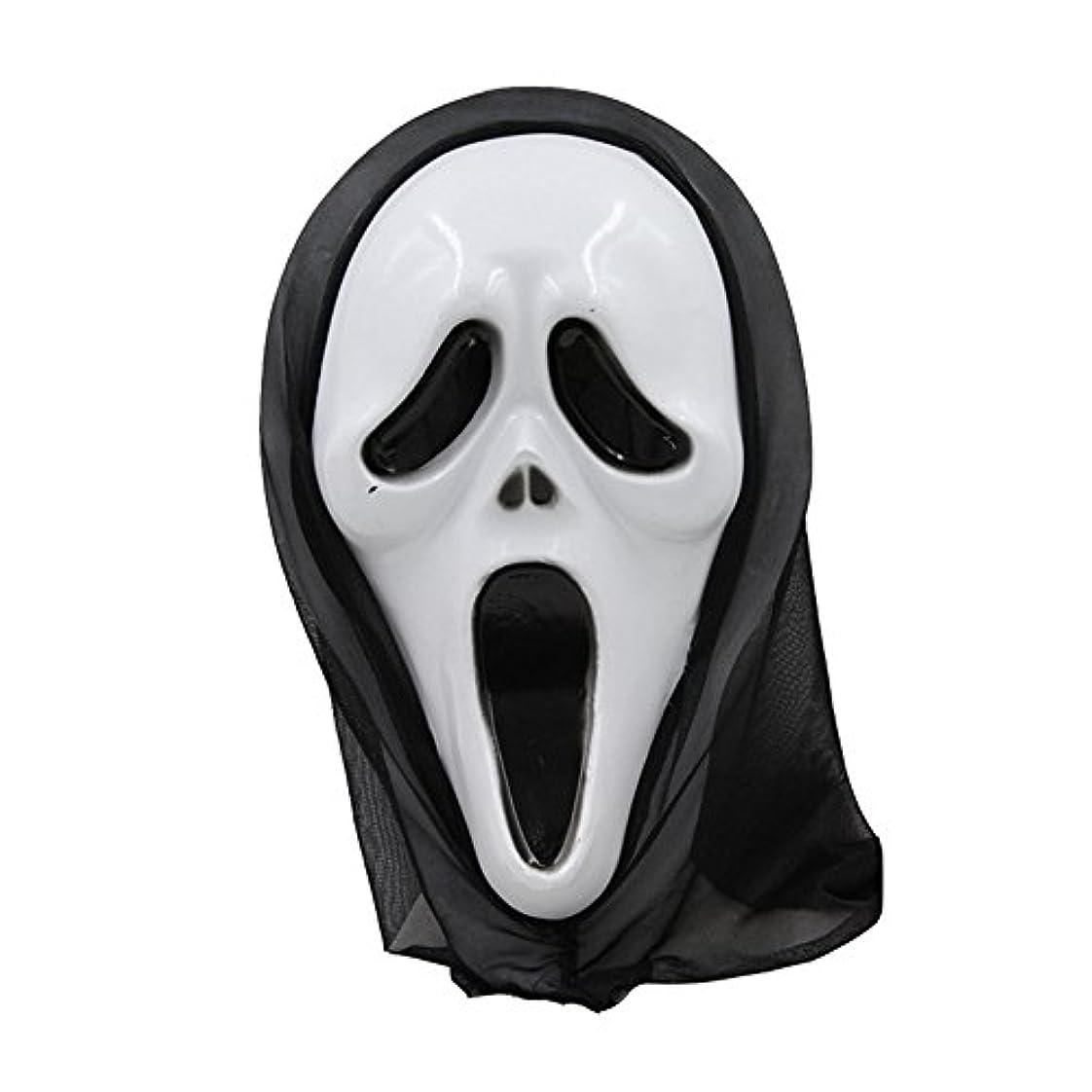 原因時刻表重要性ハロウィーンマスク仮面舞踏会全体の小道具フェイスマスクホラー叫びマスク