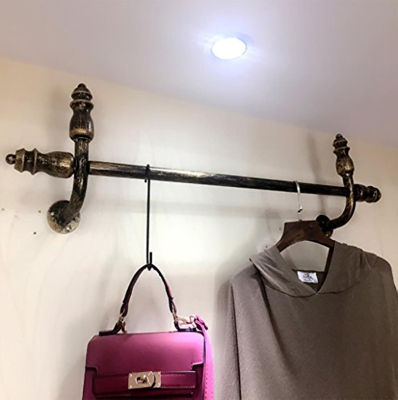 コートラック 衣料品店のディスプレイラック、壁掛け婦人服店棚、掛け棚100/120センチメートル (サイズ さいず : 100CM)
