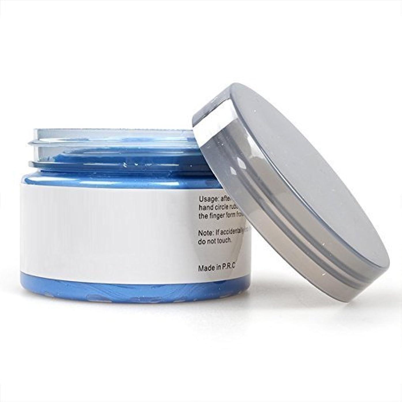 寛解絶え間ない香水LULAA ヘア カラー  ワックス 天然成分 髪を傷つけない 塗りやすい 速く着色 洗いやすい 除去容易 おやれ 人気 六色 (bule)