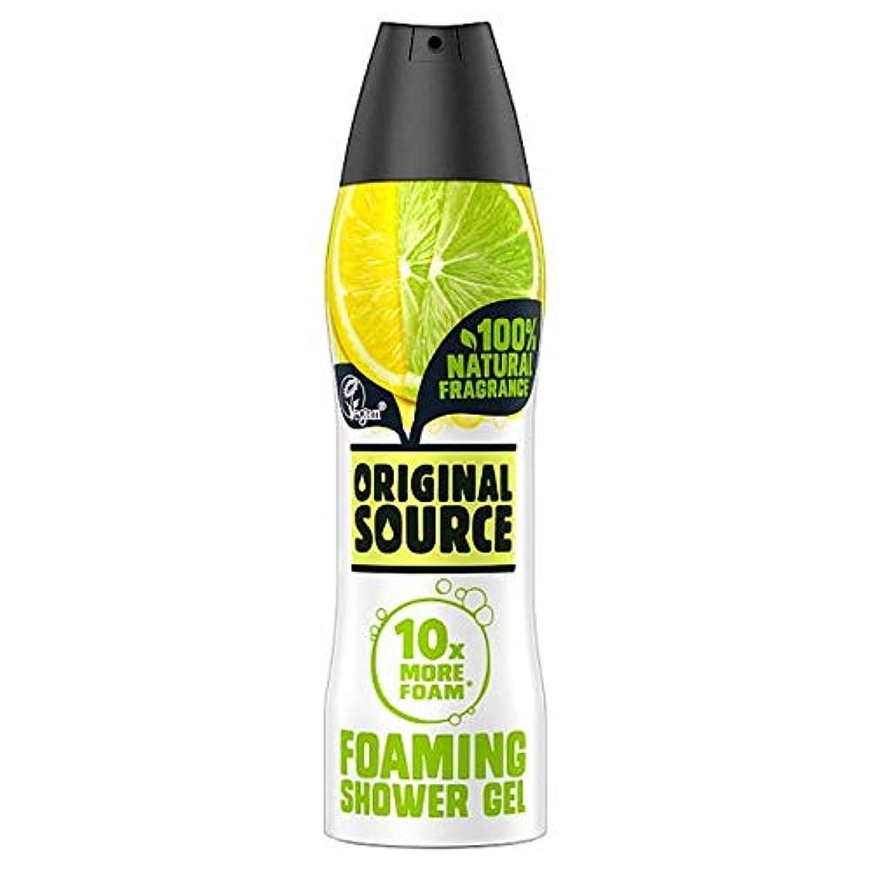 バー肥沃な生理[Original Source] 元のソースレモンとライムシャワージェル180ミリリットル - Original Source Lemon And Lime Shower Gel 180Ml [並行輸入品]