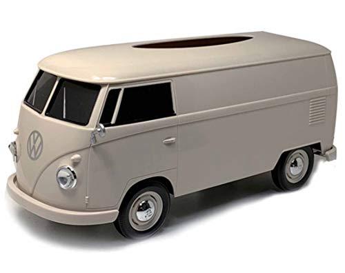 パドルビー(Puddleby) ティッシュケース クリームII 1/16 フォルクス ワーゲンバス 1963 T1 266x113x119mm (pot付き) WT-91401PT-C