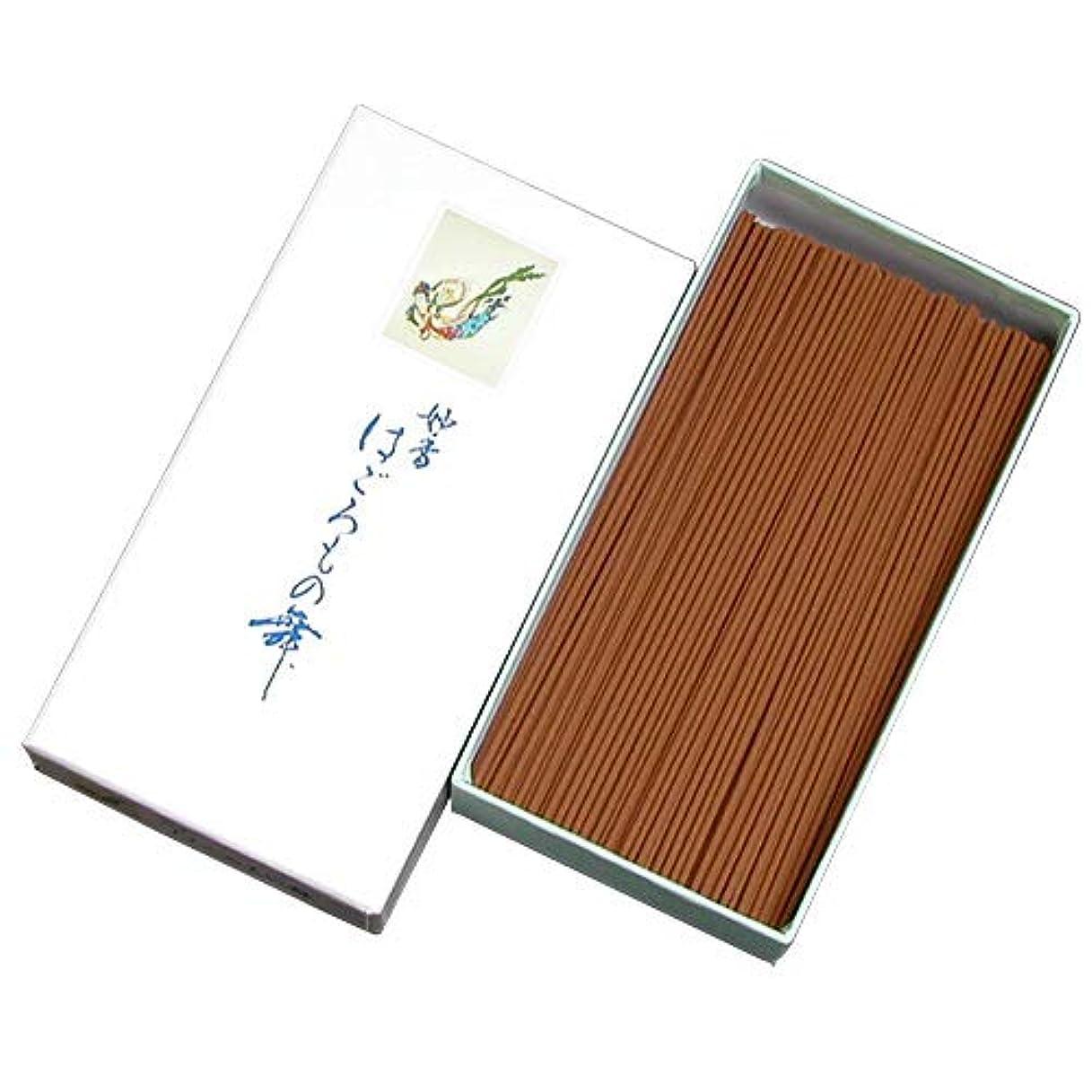 巻き戻すフィードオン理容師家庭用線香 はごろもの舞(箱寸法16×8.5×3.5cm)◆一番人気の優しい香りのお線香(大発)