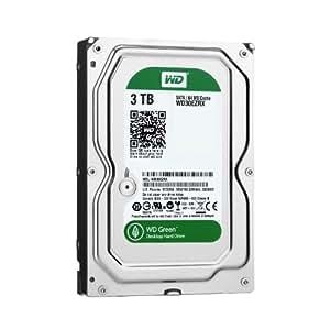 【Amazon.co.jp限定】WD 内蔵HDD Green 3TB 3.5inch SATA3.0(SATA 6 Gb/s) 64MB Inteilipower 2年保証 WD30EZRX-1TBP/N (FFP)