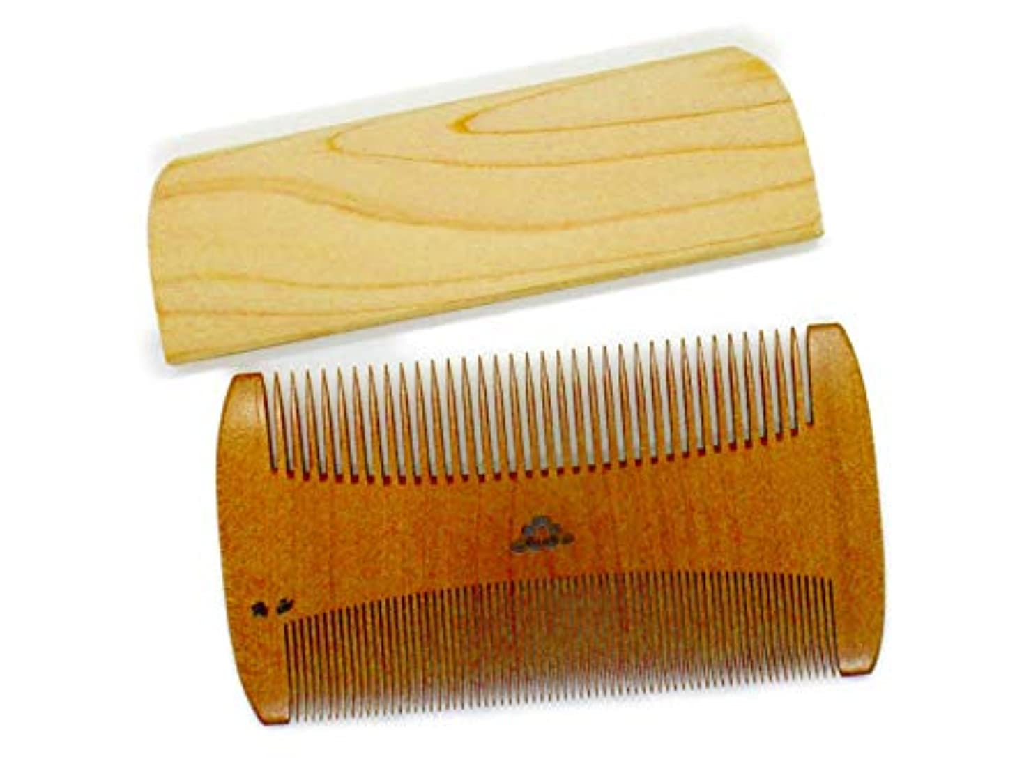 厳ジョージハンブリー蛾椿櫛 すき櫛~つげ櫛職人が作りました~髪に付いたホコリを取る事に特化した櫛です。シラミ駆除対応
