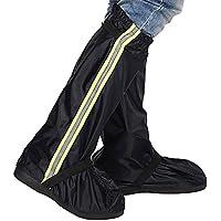オックスフォードOvershoes雨ブートカバーアウトドアスポーツ雨/雪防水シューズカバー、ラバーブーツ、ブーツ1ペア