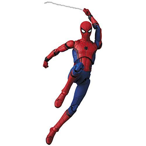 MAFEX マフェックス No.103 スパイダーマン ホームカミングバージョン 1.5 全高約150mm 塗装済み アクションフィギュア