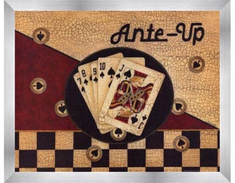 骨髄系譜経営者Ante Up by Linda Spivey – 14 x 11インチ – アートプリントポスター LE_75142-F9935-14x11