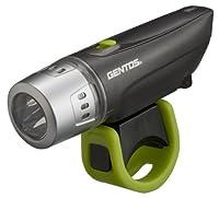 GENTOS(ジェントス) バイクライト BL 100MG 【明るさ18ルーメン/実用点灯35時間】 メタルグレイ BL-100MG
