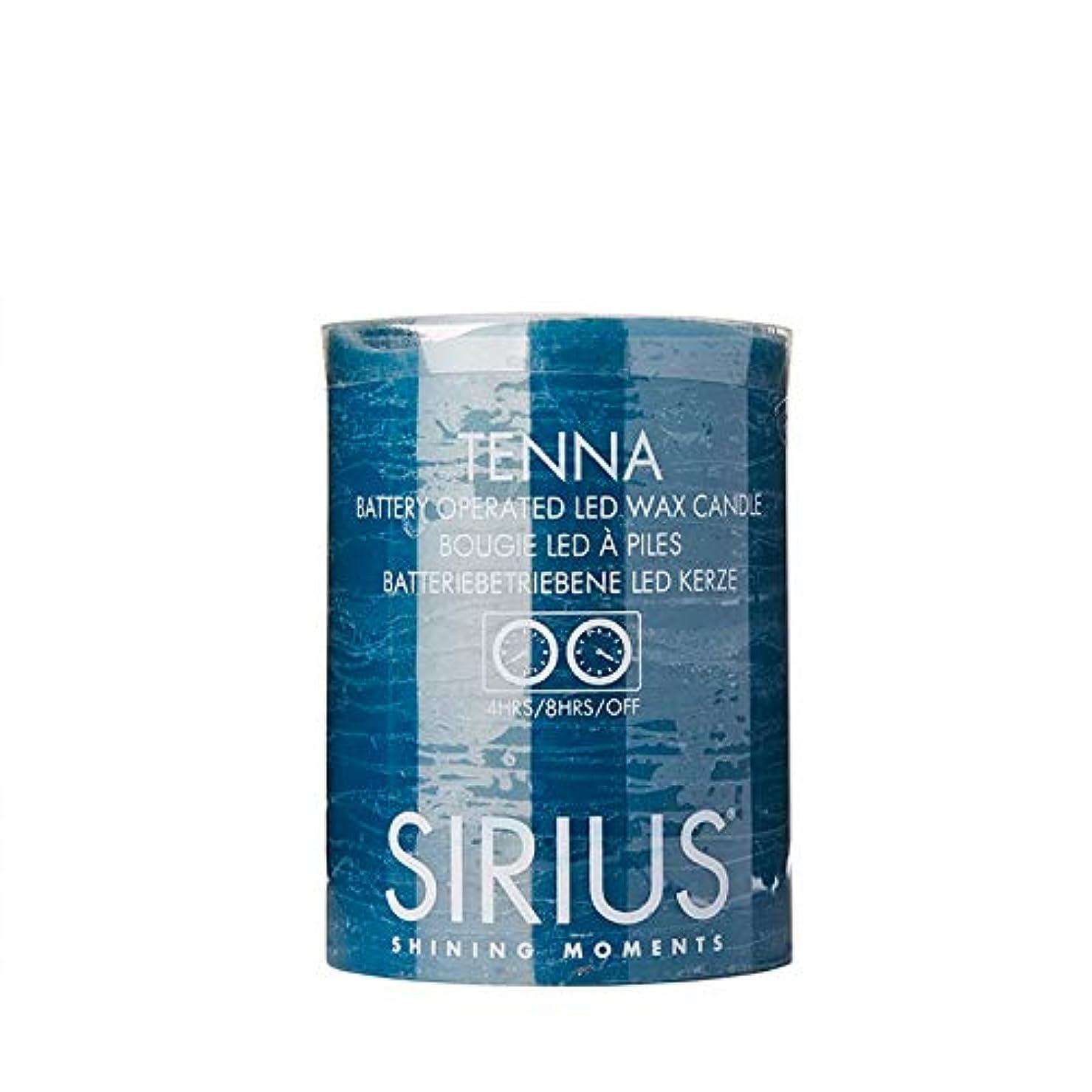 牧草地集中革新SIRIUS シリウスデンマーク TENNA LEDキャンドルライト (ブルーグリーン, 10.00)