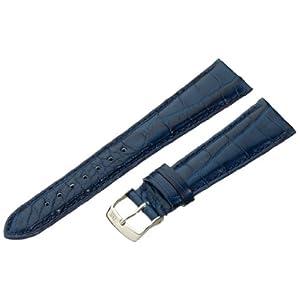[モレラート]Morellato AMADEUS アマデウス 時計ベルト 20mm ブルー アリゲーター時計ベルト U2467 339 061 020