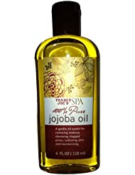トレーダージョーズ 100%ピュア ホホバオイル[並行輸入品] Trader Joe's SPA 100% Pure Jojoba Oil (4FL OZ/118ml)