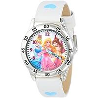Disney Kids' PN1172 Princess Watch with White Band
