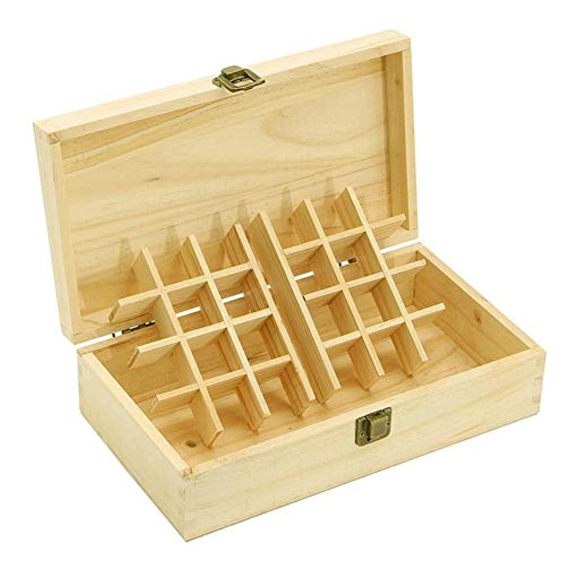 誰の多分適合するエッセンシャルオイル収納ボックス 純木の精油の収納箱 香水収納ケース アロマオイル収納ボックス