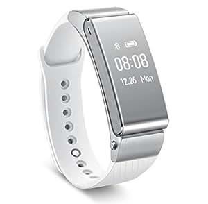 Huawei ウェアラブル 活動量計 タッチスクリーン搭載、ヘッドセットにもなるスマートウォッチ TalkBand B2 ホワイト Talkband B2/White