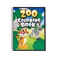 Zoo Animal Colouring Books - 12 per unit