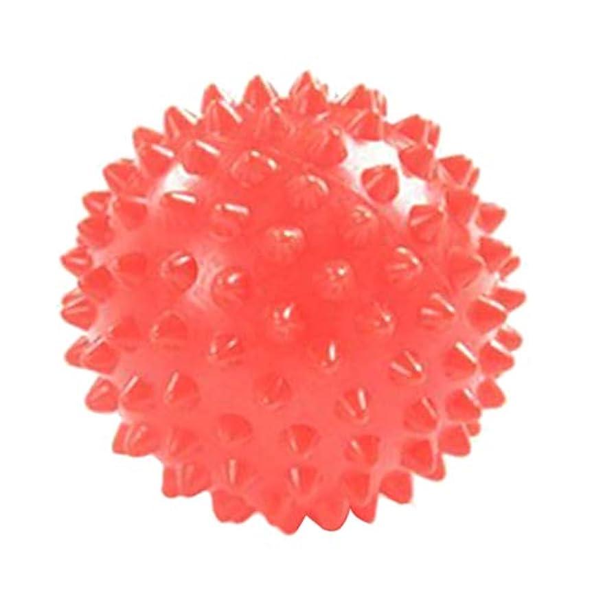 長くする学校誓うFLAMEER マッサージボール ツボ押し ヨガボール 触覚ボール 7cm オレンジ