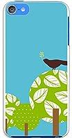 sslink iPod touch6 アイポッドタッチ6 ハードケース ca648-2 葉っぱ 鳥 木 植物 スマホ ケース スマートフォン カバー カスタム ジャケット apple