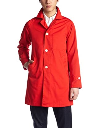 Polyester Cotton Twill Coat 1225-174-6526: Red