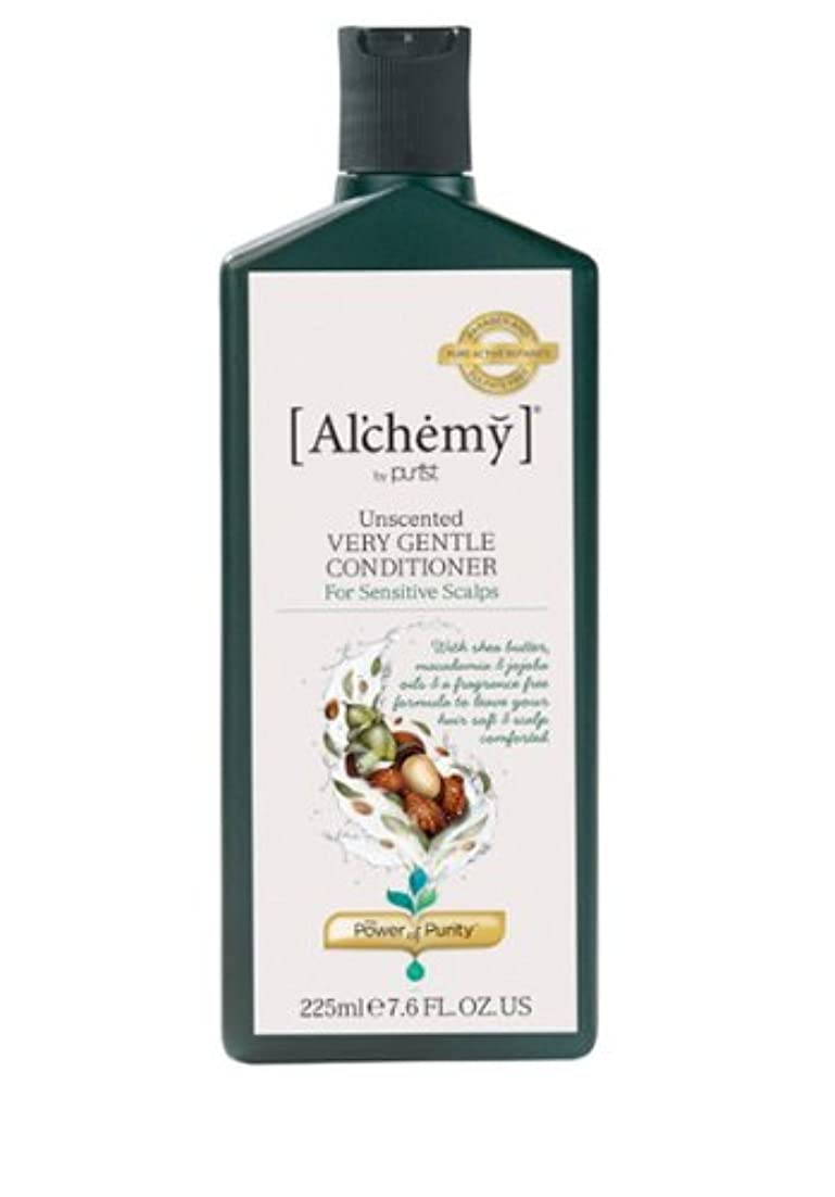 腐敗私の通信網【Al'chemy(alchemy)】アルケミー ベリージェントルコンディショナー(Unscented Very Gentle Conditioner)(敏感肌用)225ml