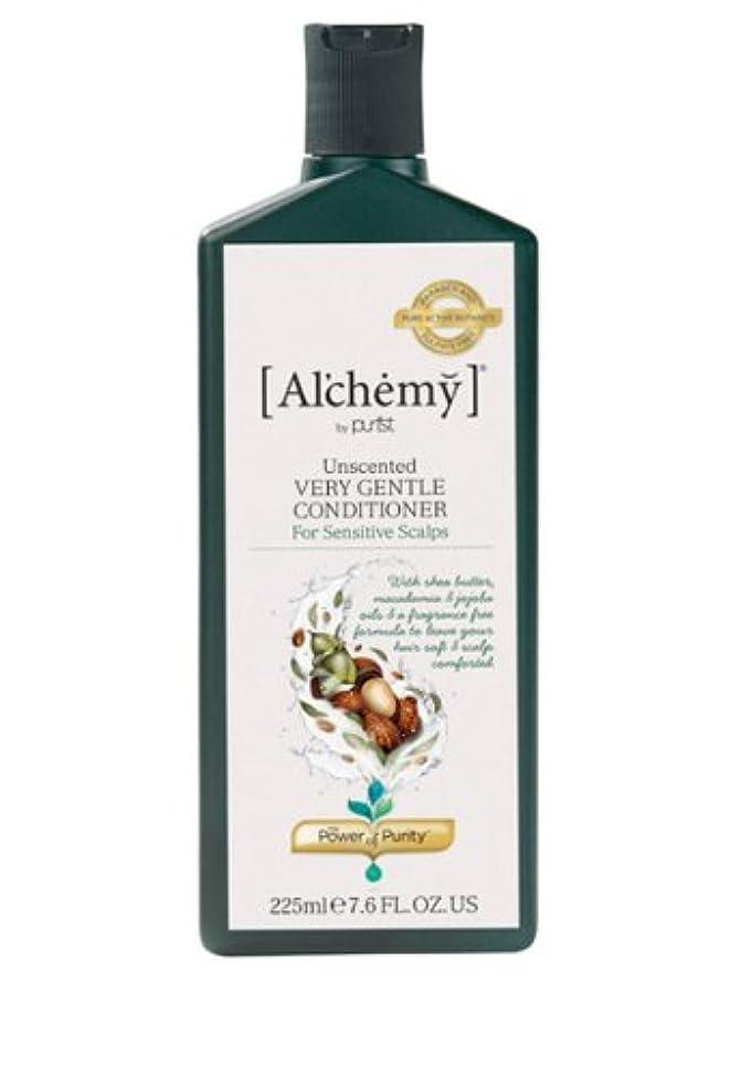 中央値ストライク夜明けに【Al'chemy(alchemy)】アルケミー ベリージェントルコンディショナー(Unscented Very Gentle Conditioner)(敏感肌用)225ml