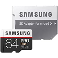 Samsung microSDカード64GB PRO Plus Class10 UHS-I U3対応 正規代理店保証品 MB-MD64GA/ECO