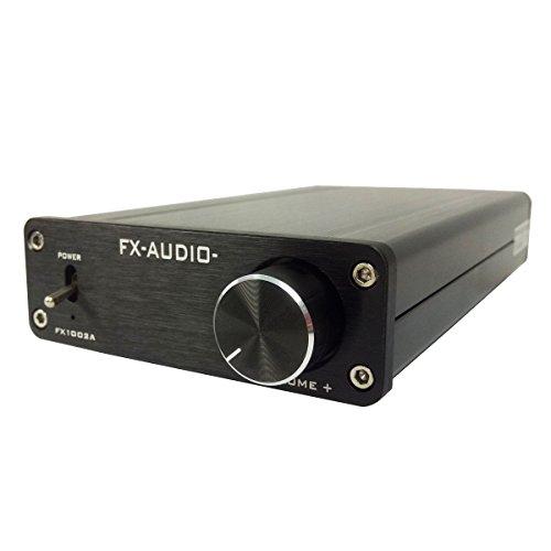 FX-AUDIO FX1002A デジタルアンプ TDA7498E 160W*2 ブラック