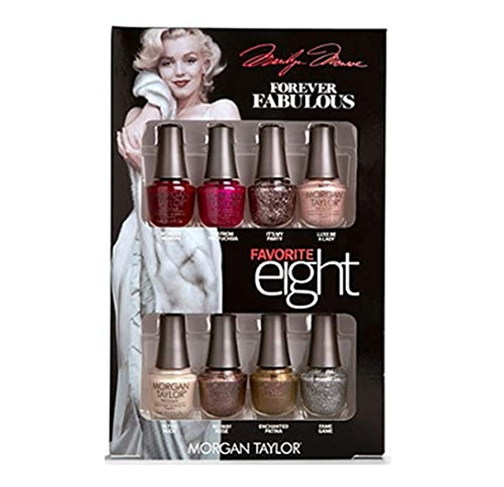 ストライプ怒って東部Morgan Taylor - Forever Fabulous Marilyn Monroe - Mini 8 Pack - 5 mL / 0.17 oz Each