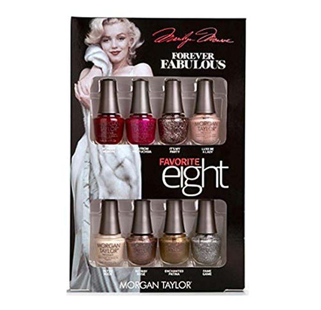 強大な固体九時四十五分Morgan Taylor - Forever Fabulous Marilyn Monroe - Mini 8 Pack - 5 mL / 0.17 oz Each