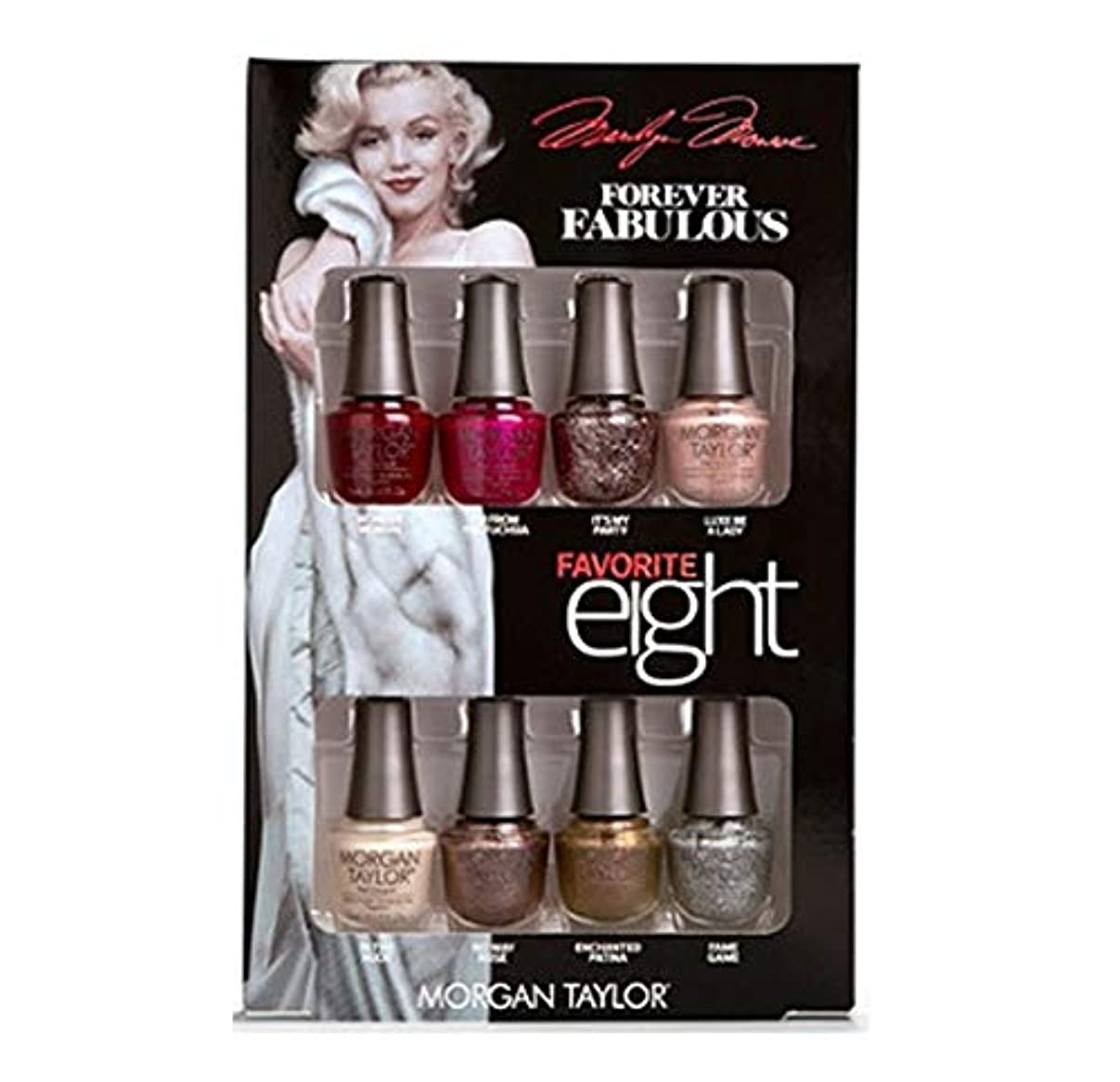 安全なお金修復Morgan Taylor - Forever Fabulous Marilyn Monroe - Mini 8 Pack - 5 mL / 0.17 oz Each