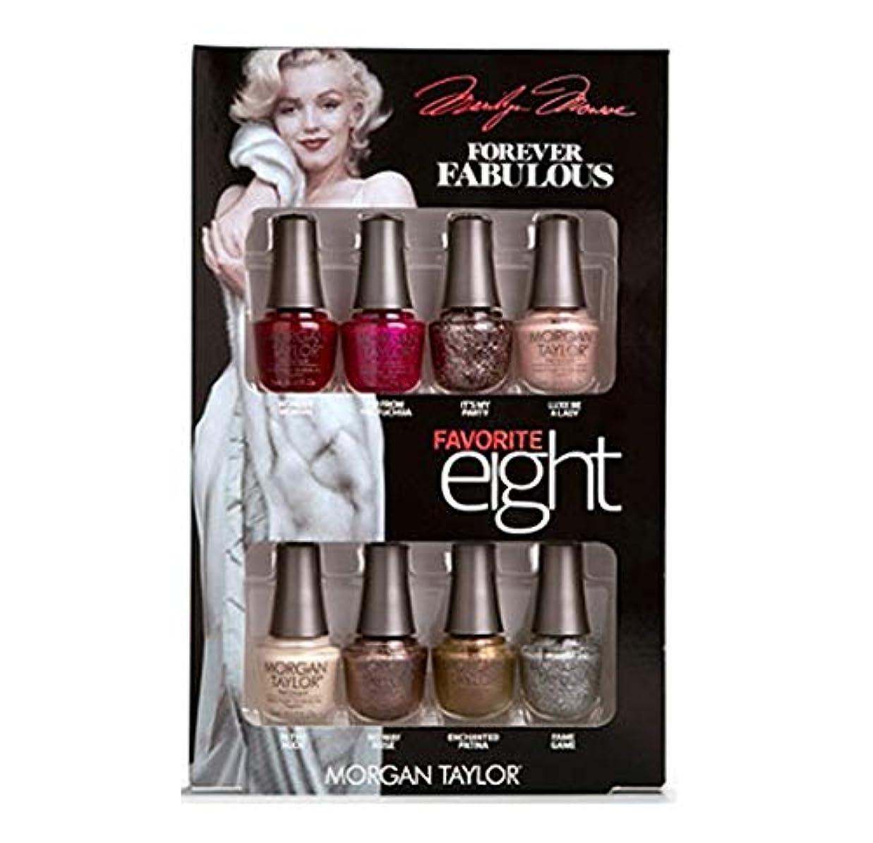 ヒゲクジラチチカカ湖発掘するMorgan Taylor - Forever Fabulous Marilyn Monroe - Mini 8 Pack - 5 mL / 0.17 oz Each