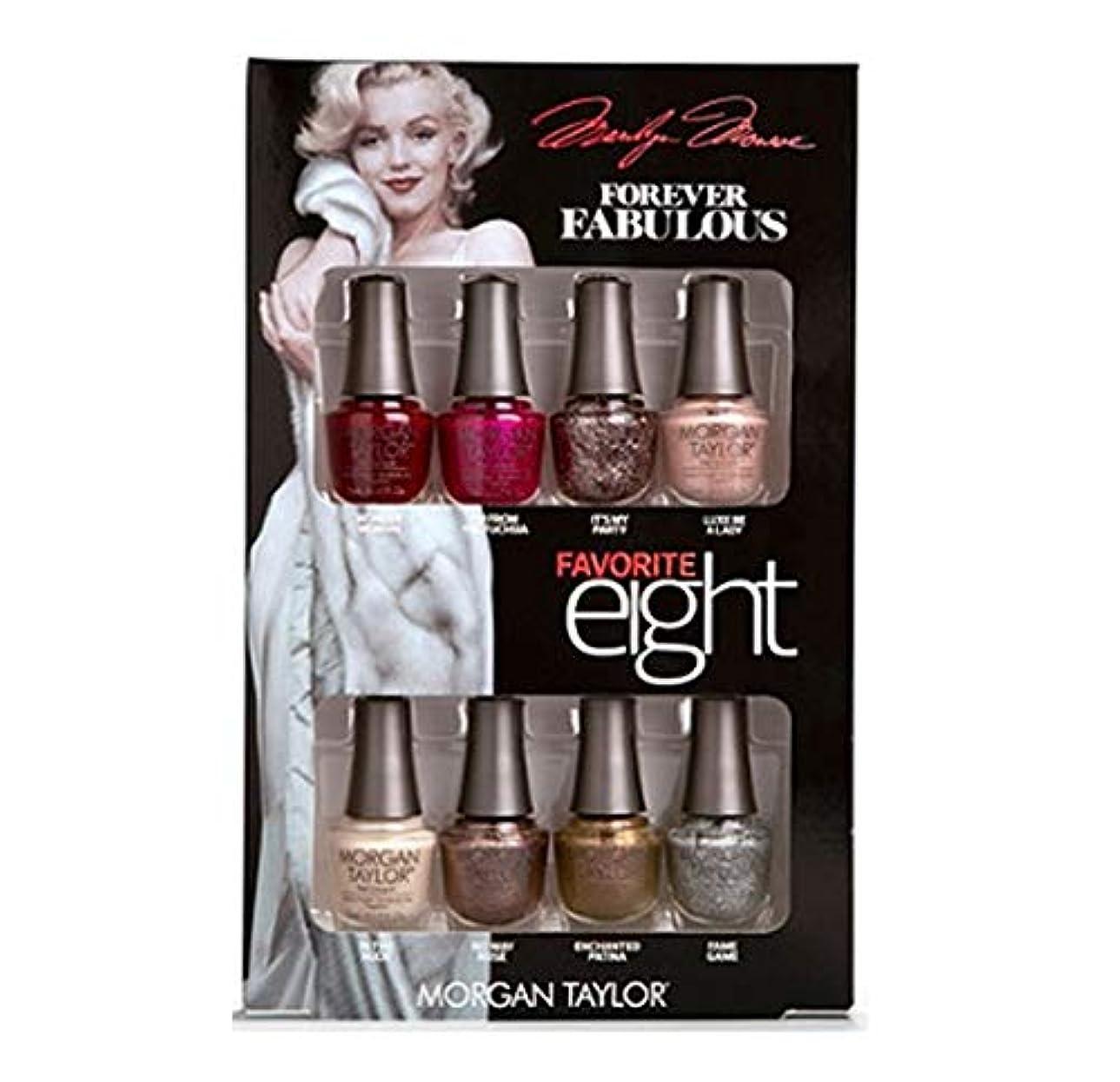 聡明療法東Morgan Taylor - Forever Fabulous Marilyn Monroe - Mini 8 Pack - 5 mL / 0.17 oz Each